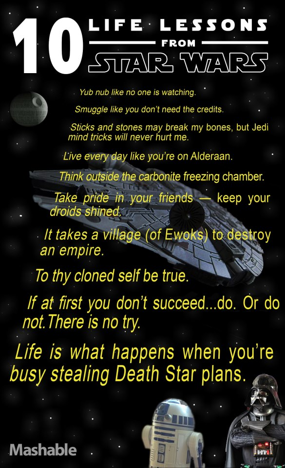 10 Life Lessons from STAR WARS